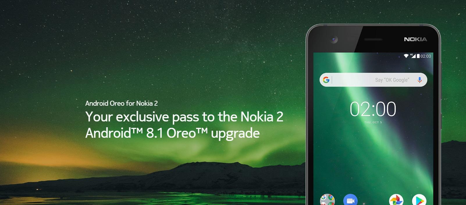 Nokia 2 Aspaldi itxaroten duen Android Oreo eguneratzea jaso du