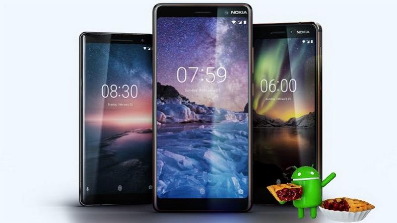 Nokia 3, Nokia 5 ve Nokia 6 için Android Pie