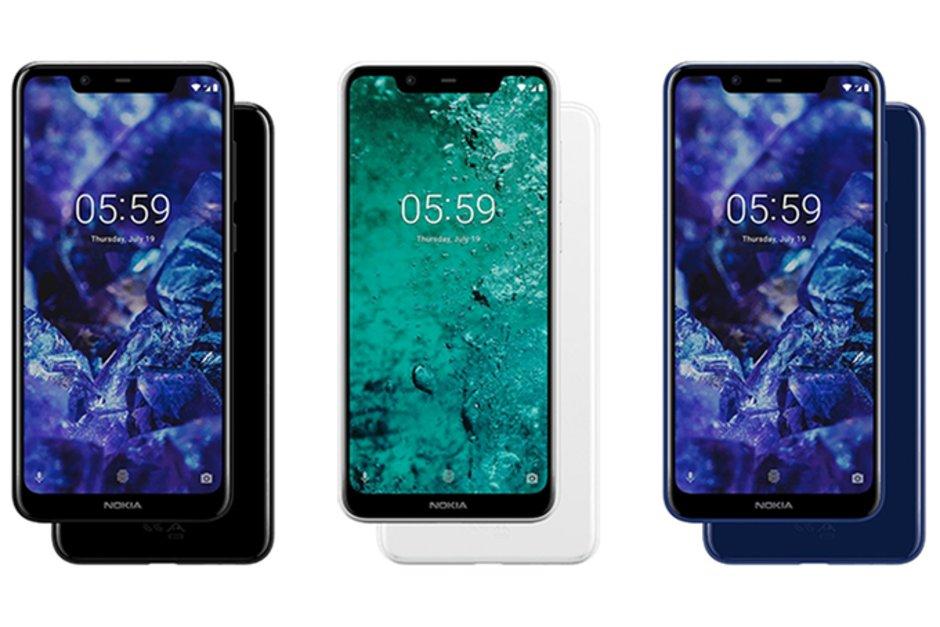 Nokia 5.1 Laster datozen Android Pie eguneratzea