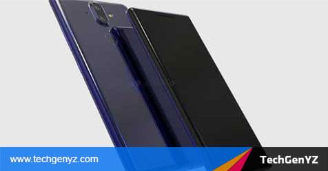 Nokia 9 Filtratutako irudiak agerian daude pantaila makurdura pantailan eta kamera bikoitzetan
