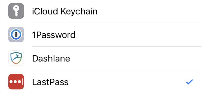 Nola aukeratu zure gogoko pasahitz kudeatzailea betetzeko iPhone edo iPad 1