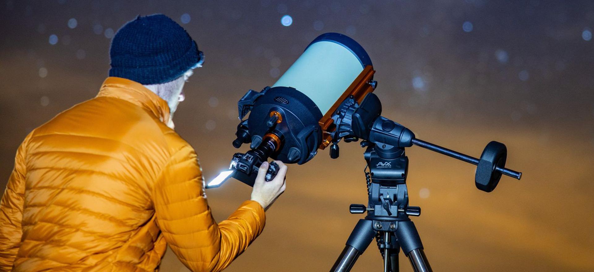 Hau Canon EOS Ra da - izarren argazkien markoa.  Xehetasun txiki batek alde handia eragiten du