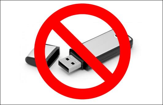 Nola desaktibatu USB portuak USB ordenagailutik kendu ondoren Windows 10