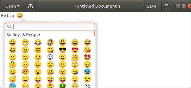 Nola desinstalatu Emoji Ubuntu-n 1