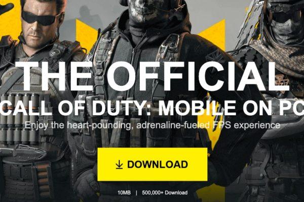 Nola deskargatu Call of Duty Mobile jokoa ordenagailuan?