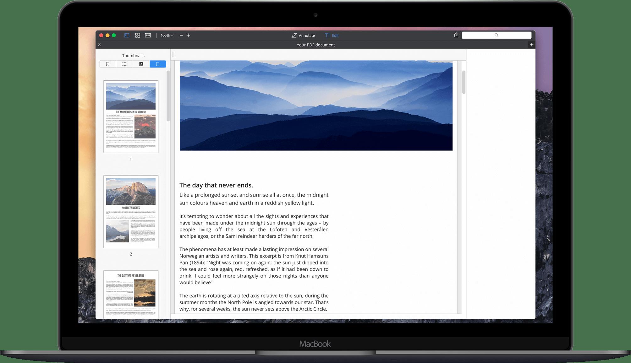 Nola editatu PDF fitxategia Mac-en 4 Modu desberdinak
