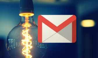 Nola gaitu edo desgaitu Gmail modu iluna iPhone eta iPad-en