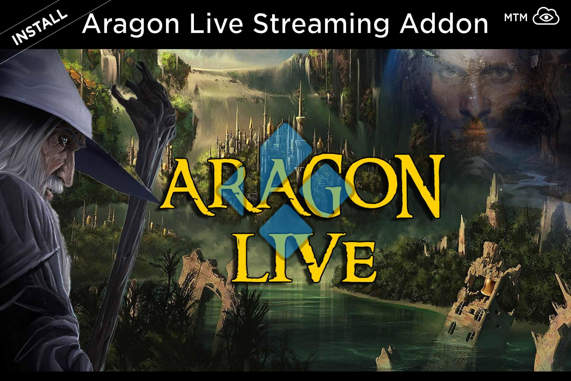 Nola instalatu Aragon Live IPTV Kodi TV Addon Blamo Repo-tik