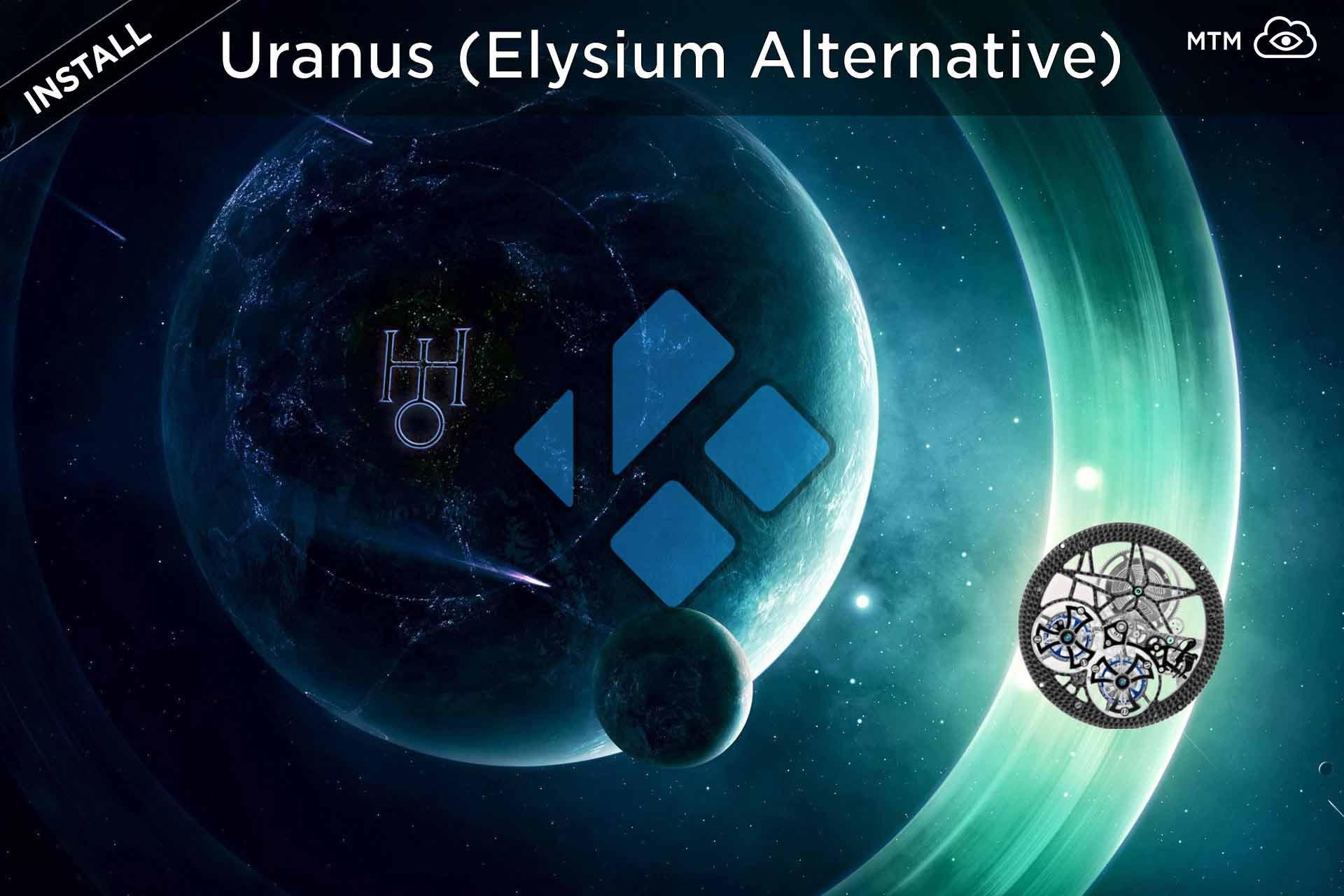 Nola instalatu Uranus Kodi Addon (Elysium Alternative)