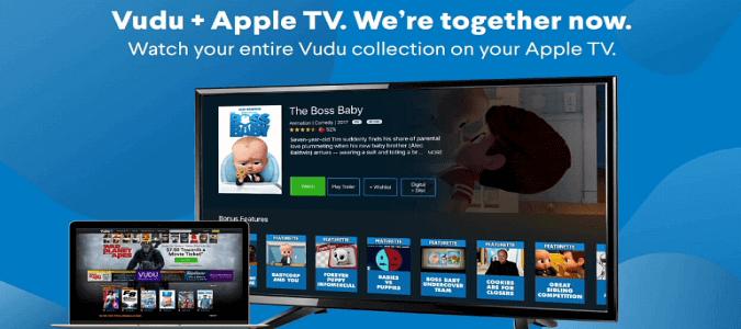 Nola instalatu & amp; Ikusi Vudu gainean Apple TV?