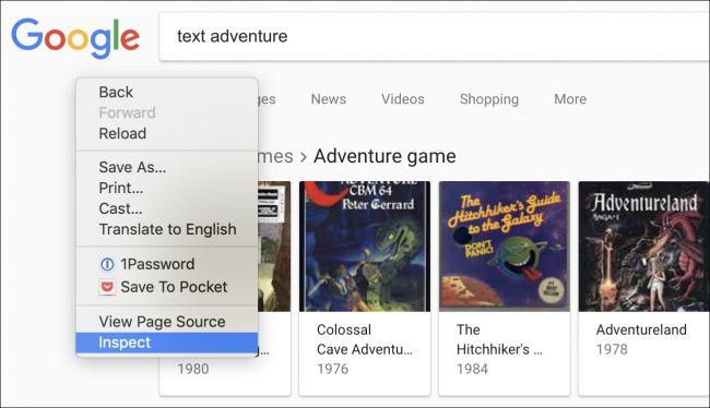 Nola jokatu Google-ren Pazko arrautza sekretu berria: testu abentura joko bat 2