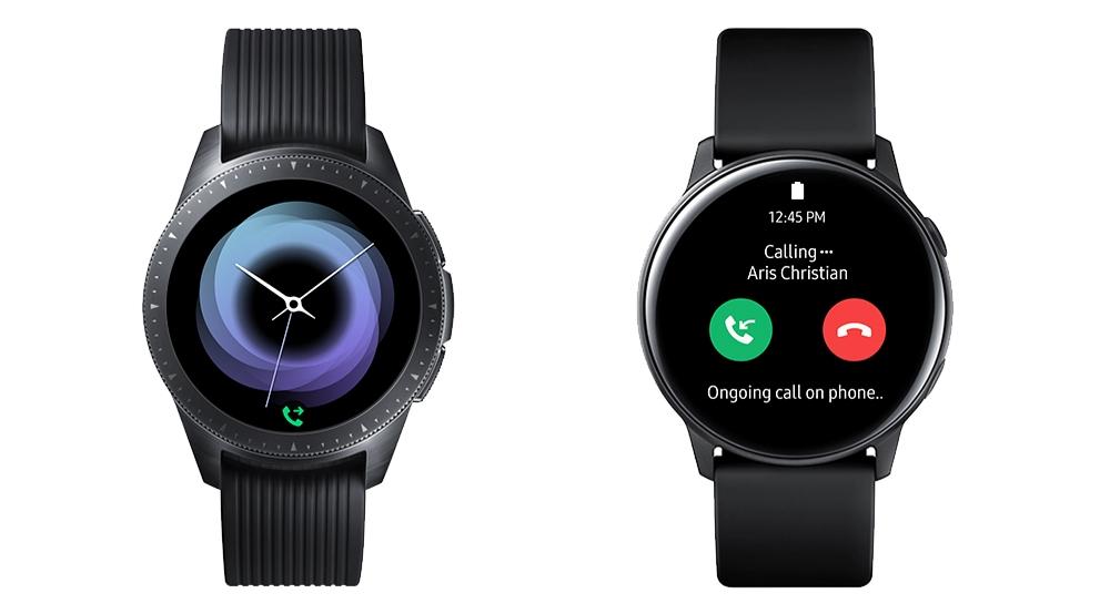 Nola konektatu Bluetooth entzungailua Galaxy Watch & Aktiboa 2
