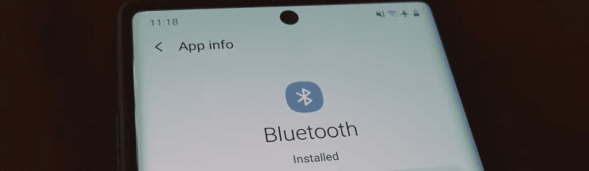 Nola konpondu Bluetooth-en konexio arazoak Samsung-en Galaxy 10. oharra?