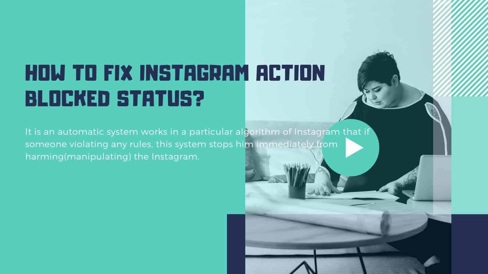 Nola konpondu ekintzak blokeatuta badaude Instagram?  Erraz konpondu