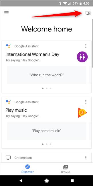 Nola lotu Bluetooth Bozgorailua Google Home-ekin 2