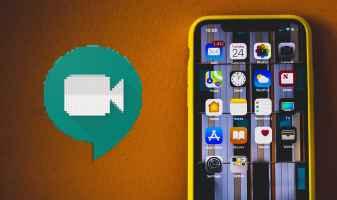 Nola partekatu zure pantaila Google Meet-en iPhone eta iPad-en
