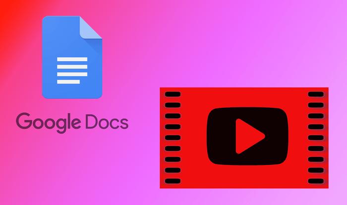 Nola txertatu YouTube bideoa Google Docs-en