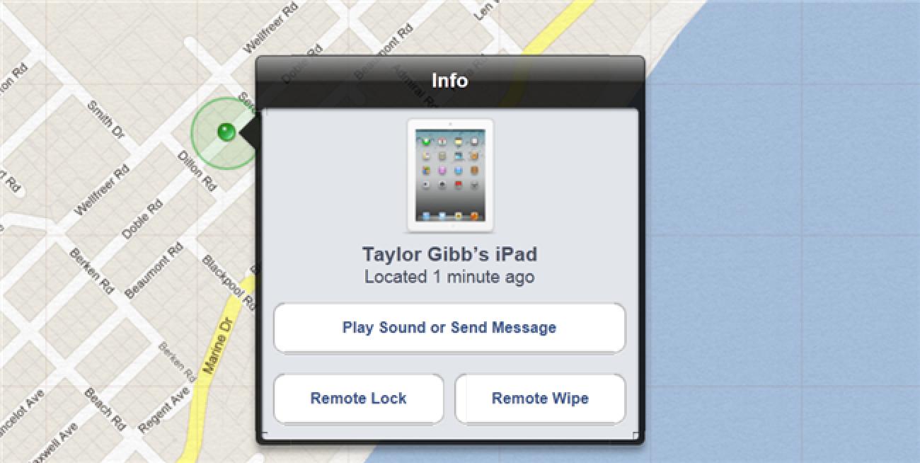 Nola urrunetik blokeatu edo ezabatu zure iOS 5 Gailu