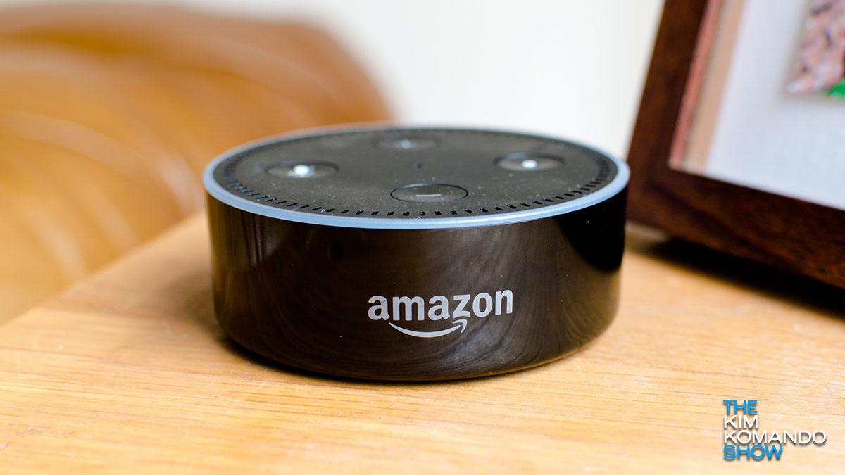 'O, Alexa, min egingo diot'.  Echo-k emakumeari laguntza eskaerak erregistratzen ditu koronavirusak hil aurretik