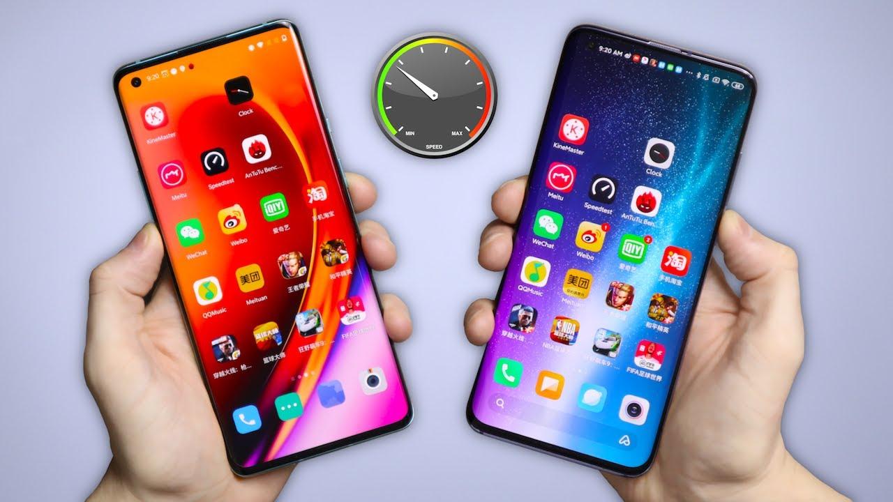 OnePlus 8 Pro edo Xiaomi Mi 10 Pro azkarrago?
