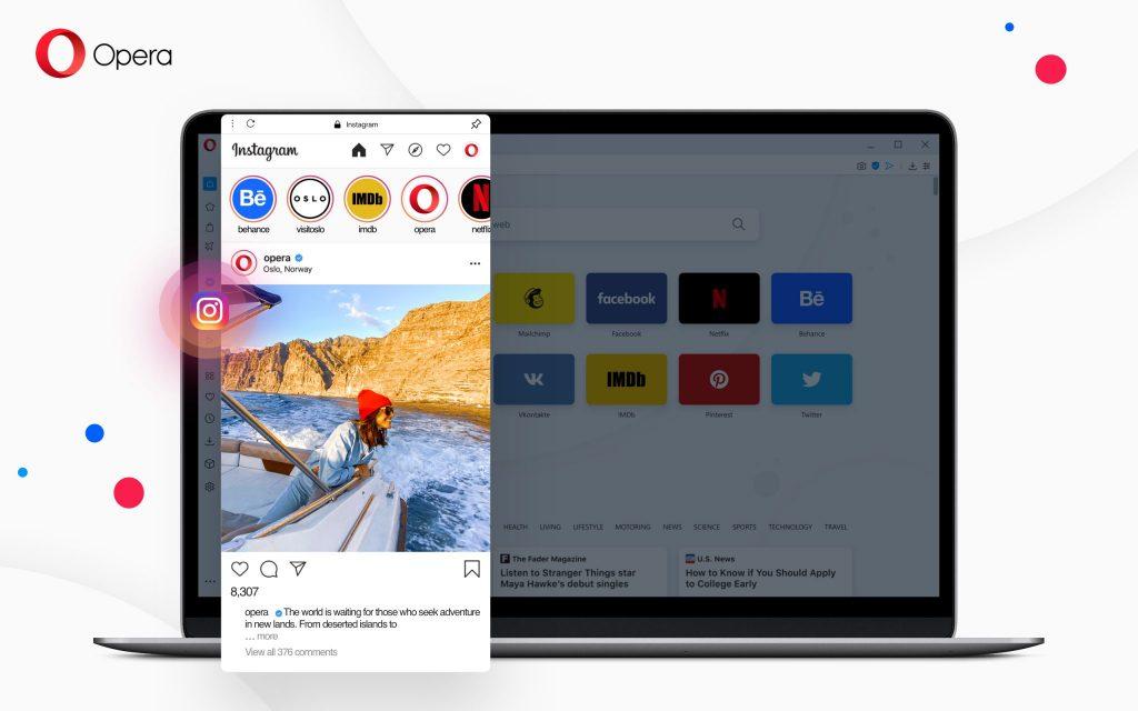 Opera Instagram integrazioarekin eguneratu!