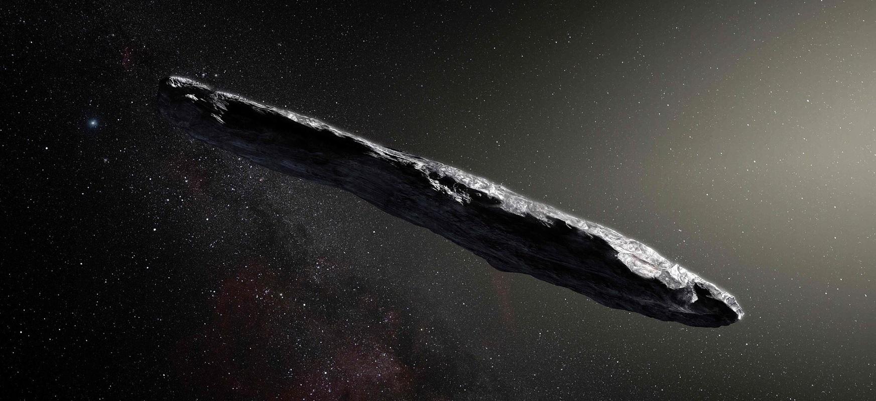 Oumuamua hegazkin planetoidea edo atzerritarra izan behar zen.  Zer moduz hidrogeno izotz mendi bat?