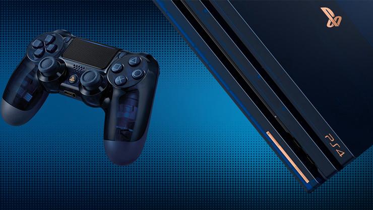 PS4 Pro 500 milioi bertsio bereziak salgai daude