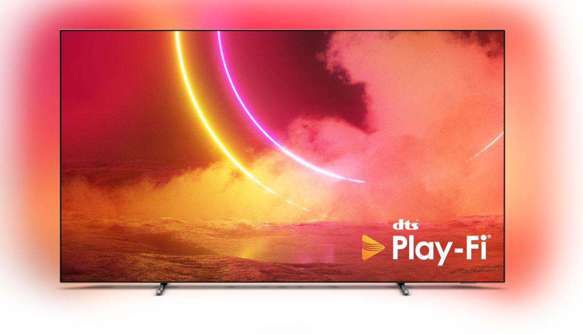 Philips telebistak DTS Play-Fi laguntzarekin prest