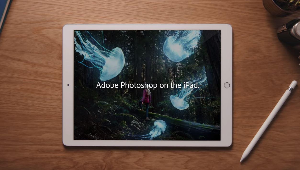 Photoshoperako iPad dago!  Deskarga!
