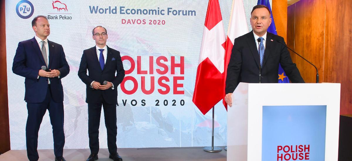 Poloniako Etxeak Davosen ireki zituen ateak.  Bank Pekao eta PZU bigarren aldiz gure herria sustatzen ari dira