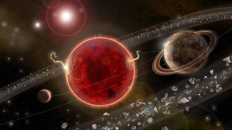 Proxima Centauri planeta bat gehiago izan daiteke.  Proxima c ez da bizimodua