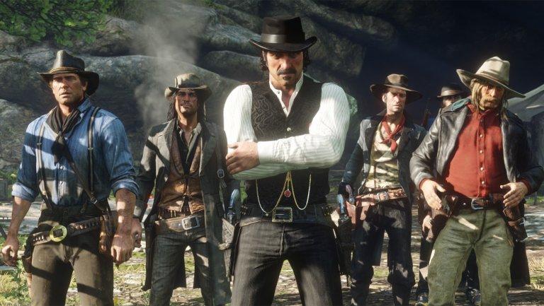 Red Dead Redemption 2 lehen eguneratzearekin dator