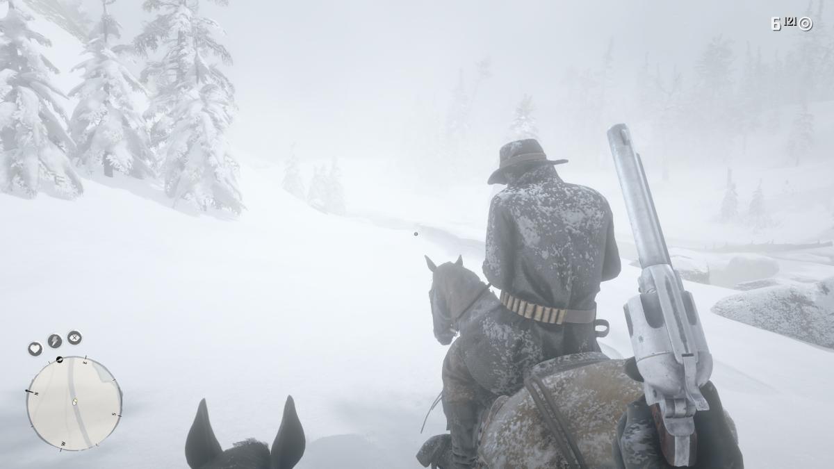 Rockstar adabakia Red Dead Redemption 2.  Adabaki berriak ... jokoari ekingo dio