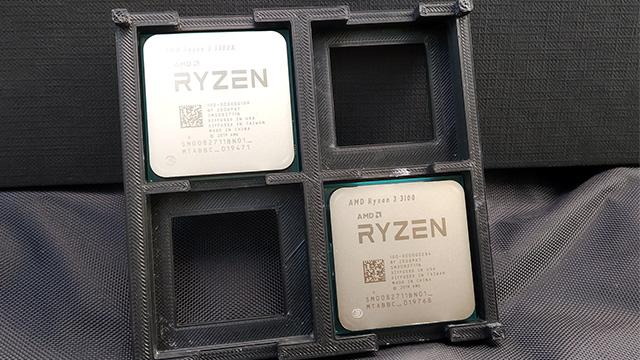 Ryzen 3 3300X vs Ryzen 3 3100 erloju erlojua - Zergatik da azkarrago CCX bat?