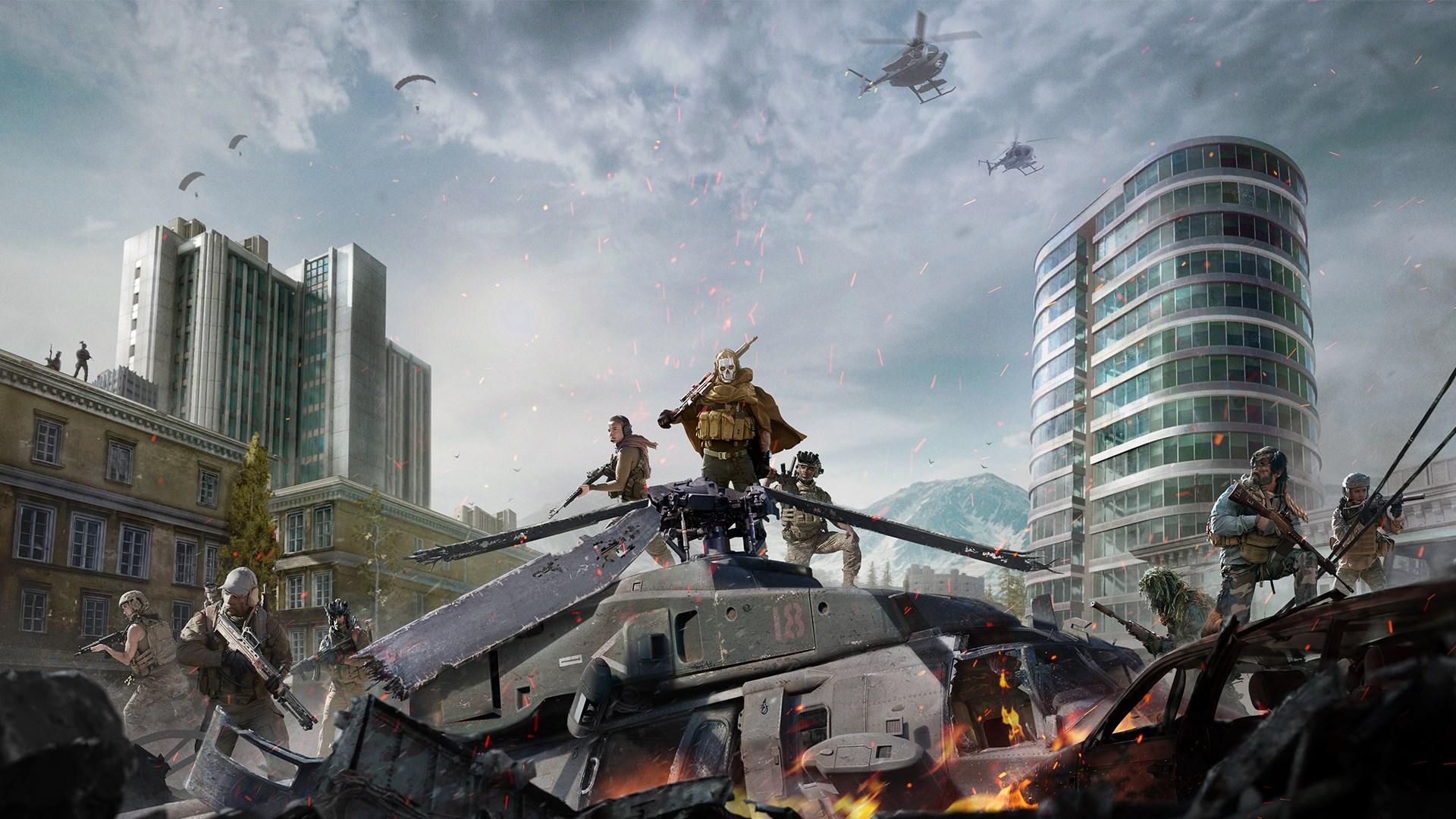 SMS egiaztapena.  Bai Call of Duty: Warzone taldeko iruzurgileek borrokatzen dute