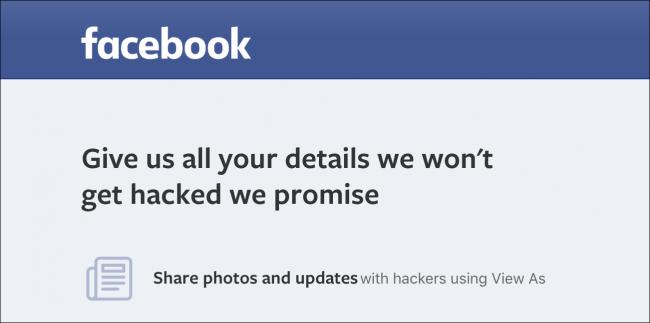 Saioa amaitu al duzu? Facebook? 50 milioi pertsona hackatu direlako da 1