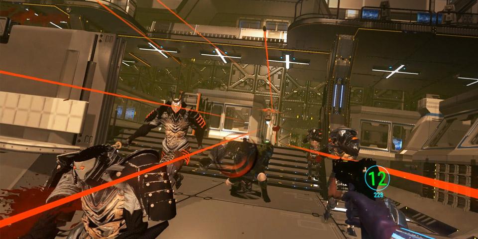 Sairento PlayStation VRren cyber ninja sim zenbakia da 1