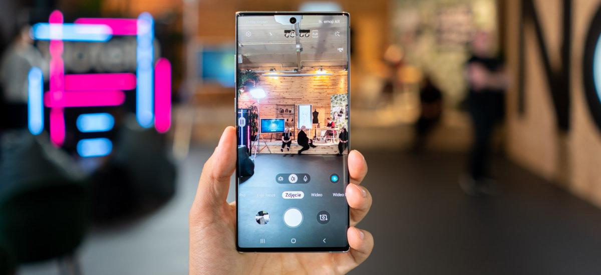 Samsung Galaxy 10. oharra eta 10+ oharra: prezioek Poloniako operadoreen itxura dute
