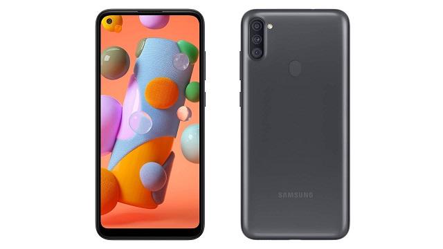 Samsung Galaxy A11 - zehaztapen teknikoa