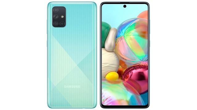 Samsung Galaxy A71 5G gero eta gertuago dago estreinaldira