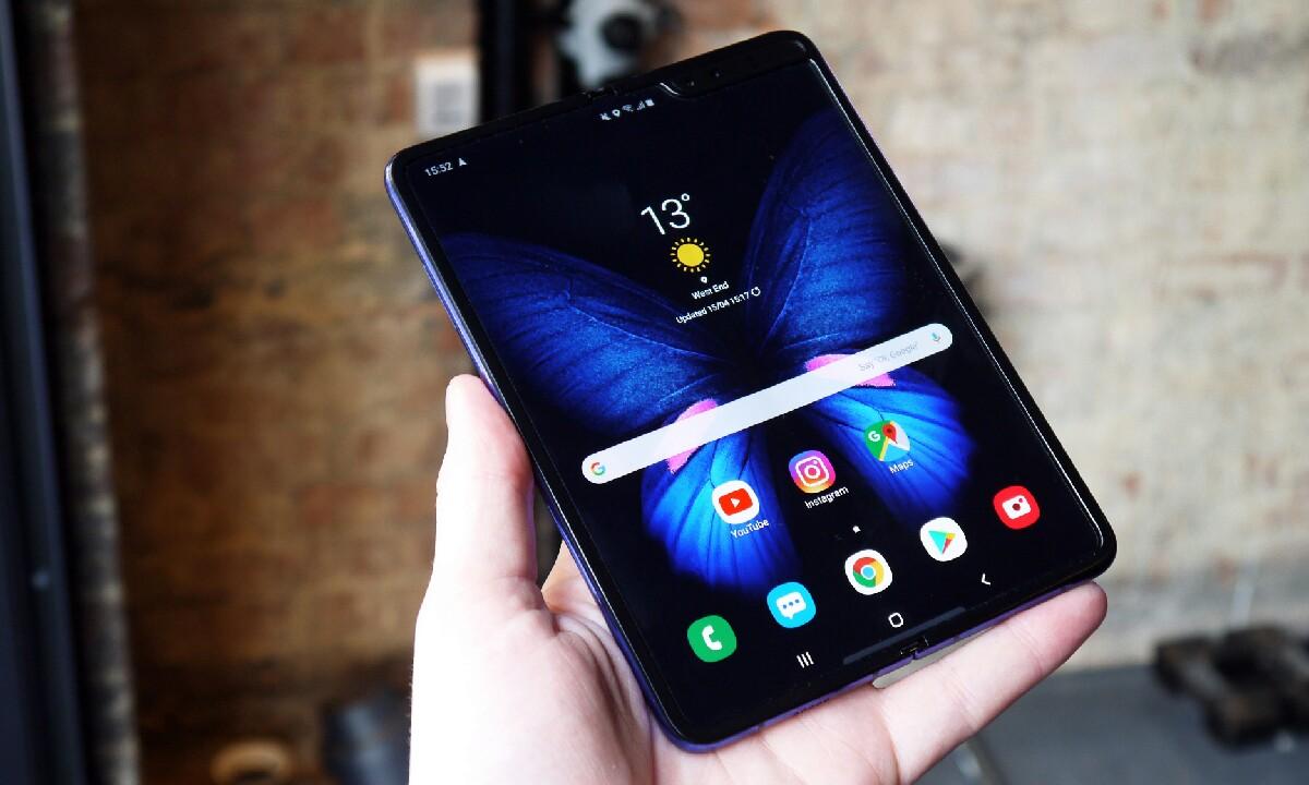 Samsung Galaxy Fold  Abisua bideoari buruz
