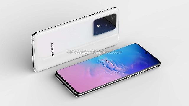 Samsung Galaxy S20ak bereizmen handiko edo 120 Hz aukeratzeko esaten digu