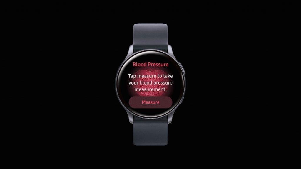 Samsung Galaxy Watch modeloek odol-presioaren jarraipen funtzioa dute!