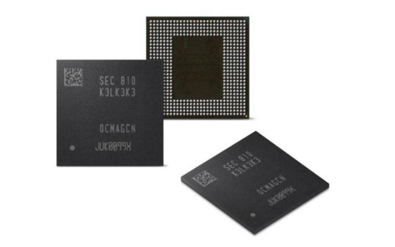 Samsung LPDDR5 RAM memoria duten gailu eramangarrietara dator