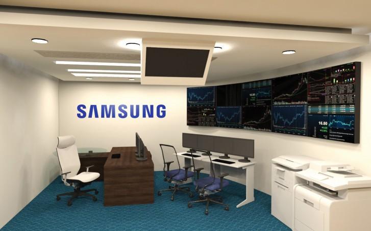Samsung-ek Q1 itxaropenen atzean utzi du