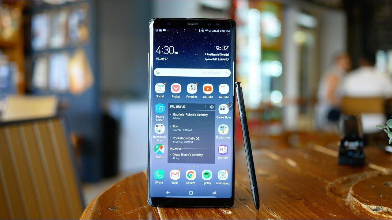 Samsung-en Android Pie egutegia iragarri da!  Hemen gailuak eta eguneratze datak!