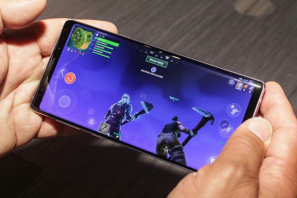 Samsung, onena Fortnite saritu zituen bere jokalariak