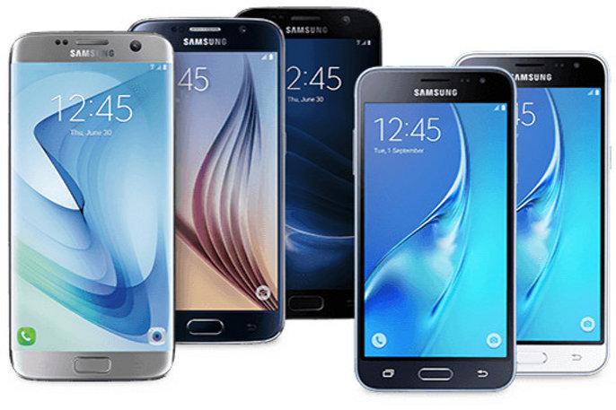 Samsung telefono salmentak itxaropen azpitik zeuden