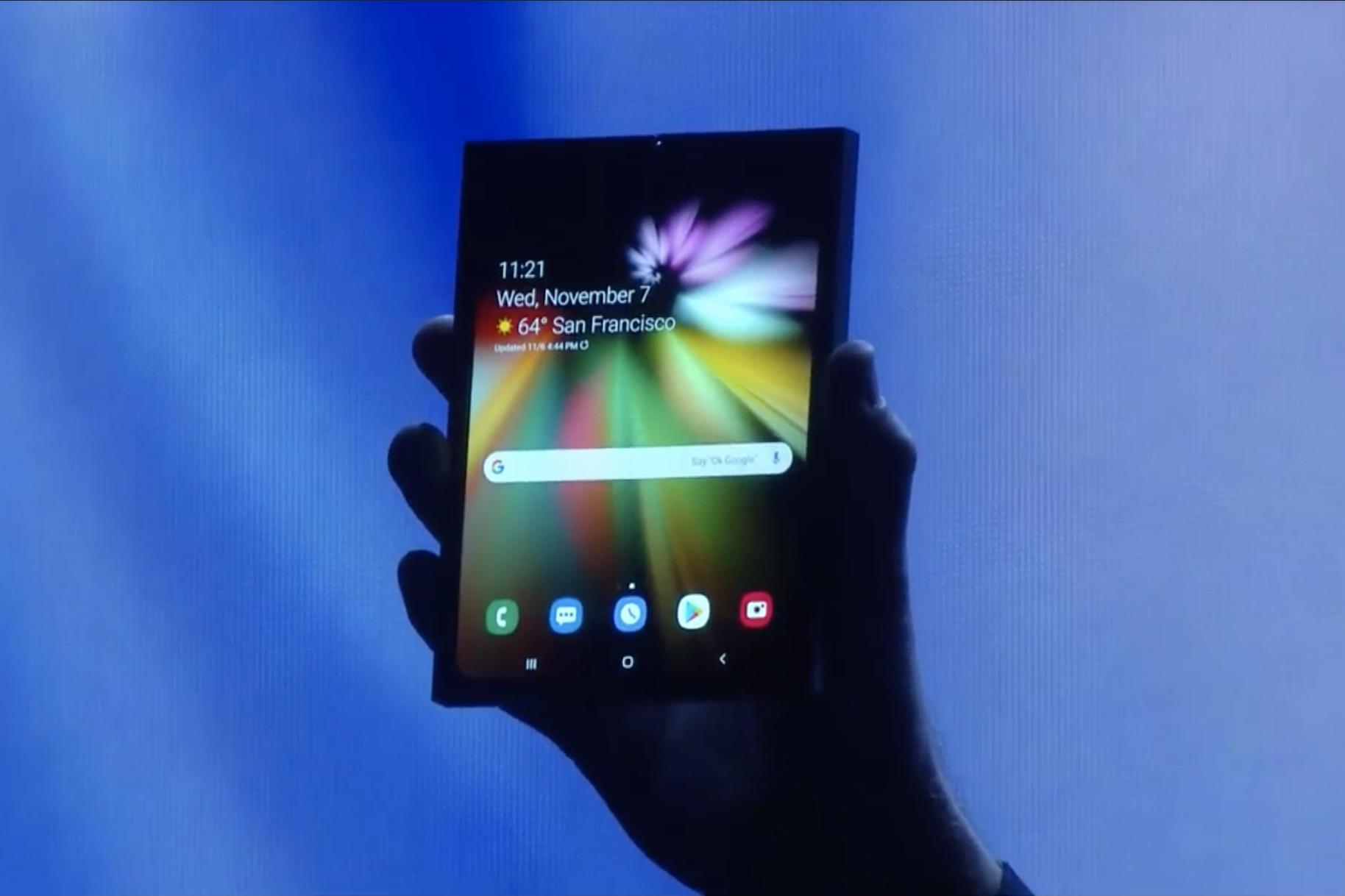 Samsung telefono tolesgarri batekin agertu zen!
