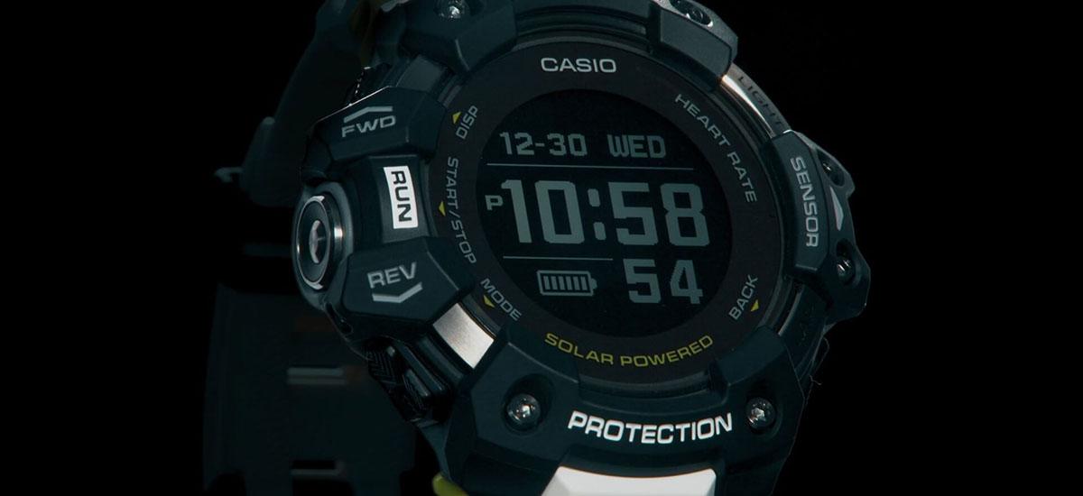 Smart guy gogorra iritsi da.  Casio G-Squad GBD-H1000 lehenengo G-Shock smartwatch da